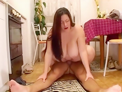 Fabulous homemade straight, bbw sex clip