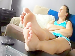 Best amateur fetish, foot fetish adult movie