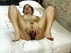 Incredible homemade masturbation, gaping porn clip