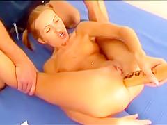 Fabulous homemade toys, hardcore sex clip