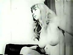 Exotic amateur black and ebony, vintage porn clip
