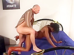 Crazy homemade anal, black and ebony adult movie