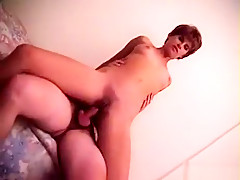 Horny amateur smoking, straight sex video