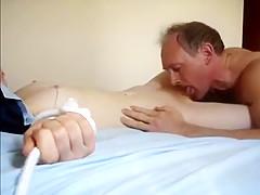Crazy amateur Cunnilingus, Fetish adult clip