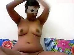 Hot Desi Babe Solo Show