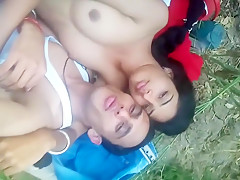 Indian College Girl Outdoor Sex