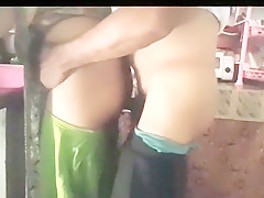 Indian Couple Sex In Kitchen