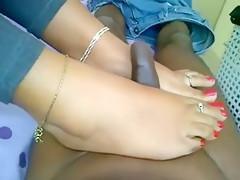 Neha Bhabhi Feet Get Me Off