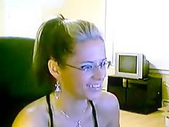 Sexy Glasses Webcam 1