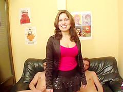 Laura Cruz in her first DP