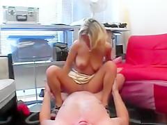 Best amateur blonde, straight sex movie