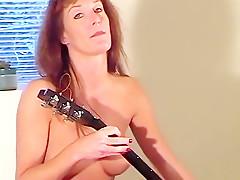 Fabulous amateur straight, brunette sex movie