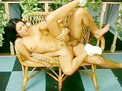 Incredible homemade threesome, european sex movie