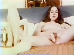 Amazing homemade vintage, threesome sex video