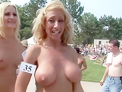 Amazing homemade public, straight porn video