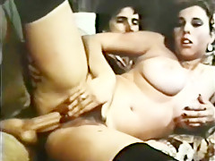 Incredible homemade straight, vintage xxx clip
