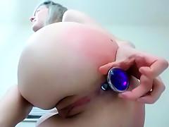 Amazing homemade Spanking, Ass porn movie