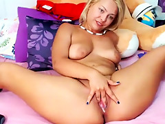 Amazing homemade Big Tits, Stockings porn video