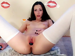 Horny homemade Masturbation, Close-up porn movie