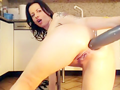 Best homemade Close-up, Solo sex clip