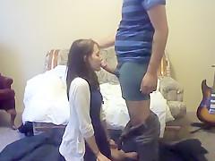Amazing amateur Brunette, Webcam xxx movie