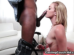 Young spanish redhead fucking in casting leyre blanco