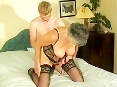 Amateur Granny Gets Fucked