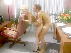 Hot Blond Has Crazy Office Sex