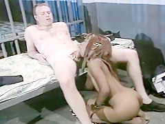 Interracial Jailhouse Sex
