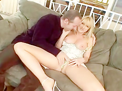Hot Housewife Bangs In Front Of Husband