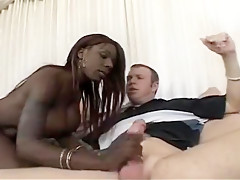 Busty Black Hooker Begs For Hot Sperm