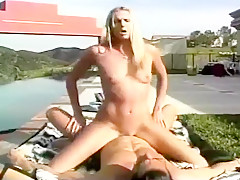 Spunky Blond in Loud & Wild Sex