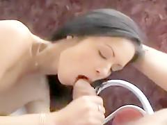Angelina Crow Gets Slammed in Backside