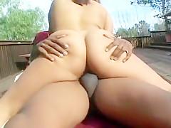 Lusty Latina Chick Taking Dark Schlong