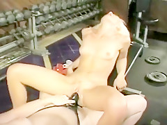 Lainey Takes Wild Strap-on Banging