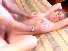 French Canadian Slut Getting Naked Cum In Mouth