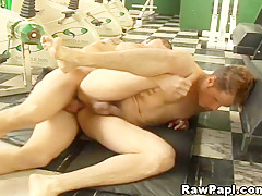 Hardcore Anal Rimming With my buddy at the gym