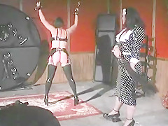 Morgan Monroe & Kim Lee Have Fun With Leather