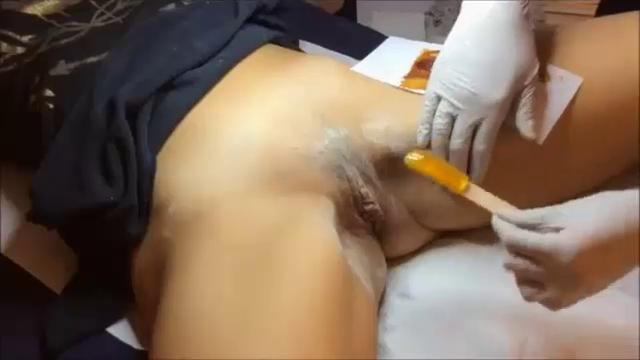 Groups fetish body waxing