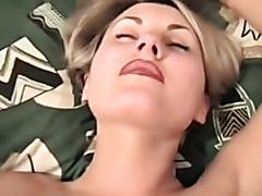 Mature blonde milf bondage