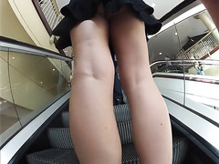Public upskirt on a windy day pt1