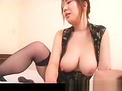 Big booby asian