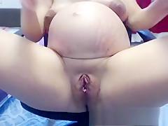 Fat Woman Masturbate