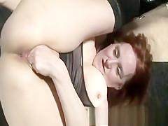 Mature Redhead Handjob