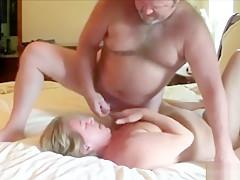 He unloads his cum
