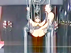 Amateur MILFs doing BDSM