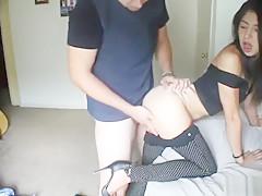European amateur pussyfucked for cash