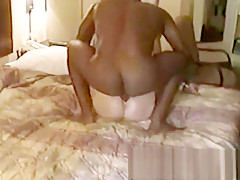 Blonde Amateur Milf Wife Blowjob Cum Swallow