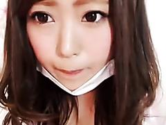 Busty Japanese WebcamGirl teases and Dildo-BJ