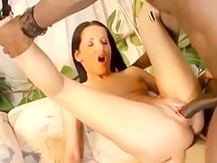 Diana krijgt donkere pik anaal